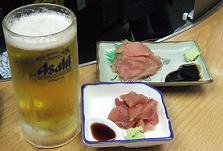 神戸新開地グルメ 世界長直売所本店様 マグロ.JPG