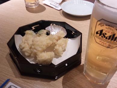 てっぽう茶屋 タラの天ぷら.JPG