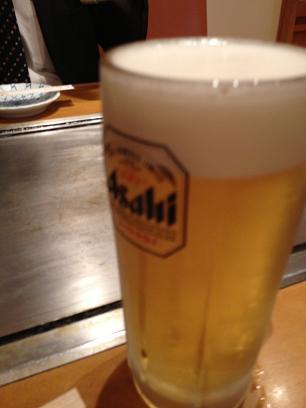 とーせんぼ様 アサヒスーパードライ生ビール.JPG