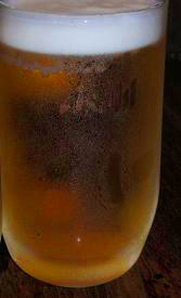 やきとり串政 スーパードライ生ビール.JPG