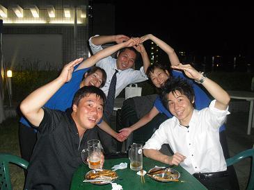 イーグレひめじビアガーデン ダブルゼロポーズ.JPG