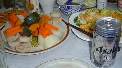クリスマスにぴったりのお料理 スーパードライ.JPG