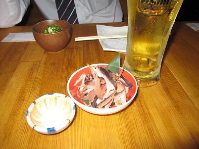 ファイアーバード スーパードライ生ビール.JPG