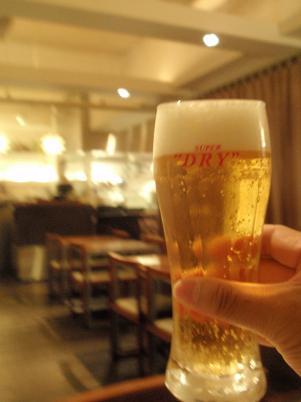 ペガーズ様 スーパードライ生ビール.JPG
