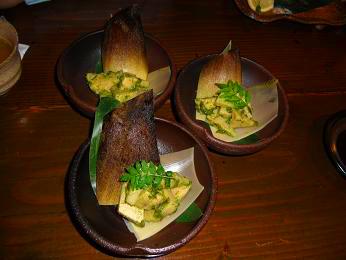 季節の料理 たか月 若筍煮 神戸三宮グルメ情報.JPG