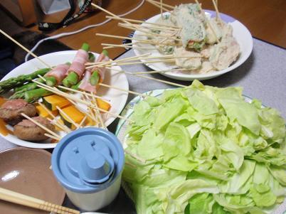 家飲み 串カツネタ2.JPG