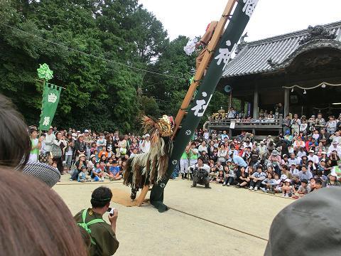 播州まつり 梯子獅子 1.JPG