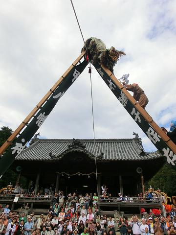 播州まつり 梯子獅子 4.JPG