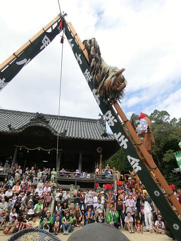播州まつり 梯子獅子 5.JPG