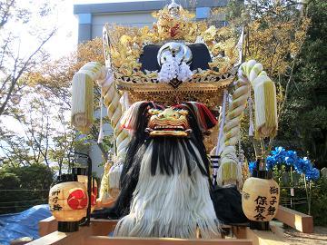 播州祭り 獅子舞2.JPG
