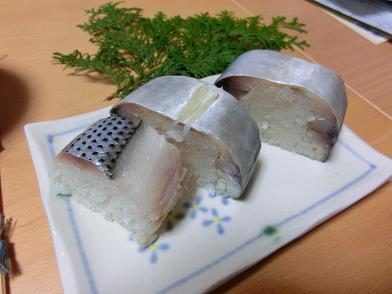 播州祭り 鯖寿司2.JPG