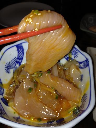 桜咲くころ 地鶏ユッケ.JPG