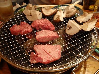 田様 牛タンとシイタケ.JPG