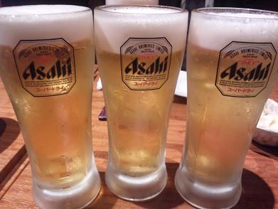 蔵 スーパードライ生ビール.JPG
