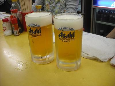 赤松酒店 スーパードライ生ビール.JPG