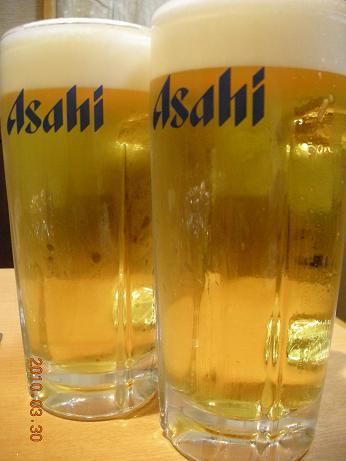 アサヒスーパードライ生ビール.JPG