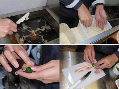 串カツ・ピーマン肉詰め.JPG