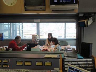 神戸登場!第23代 小林優美さん アサヒイメージガール ラジオ関西01.JPG
