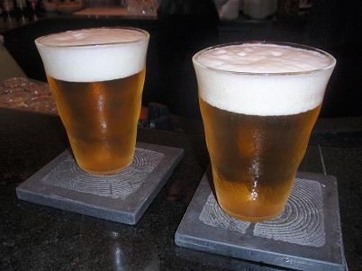 淡路バー 生ビール 熟撰.JPG