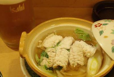穴子一人鍋 創作和食 はまだ様.JPG