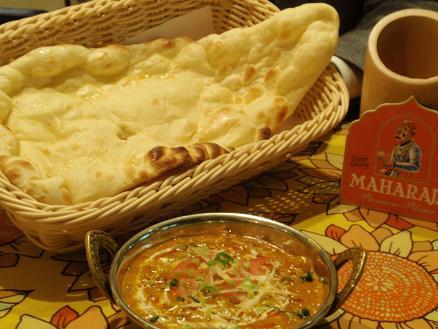 シーフードマサラとナン インド料理 まいた様.JPG