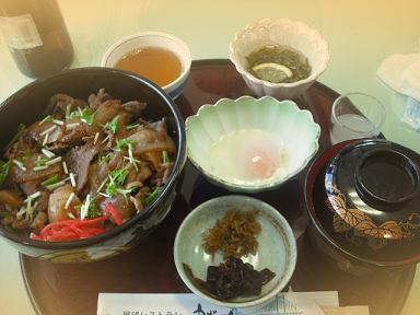 展望レストラン うずの丘様 淡路島牛丼.JPG
